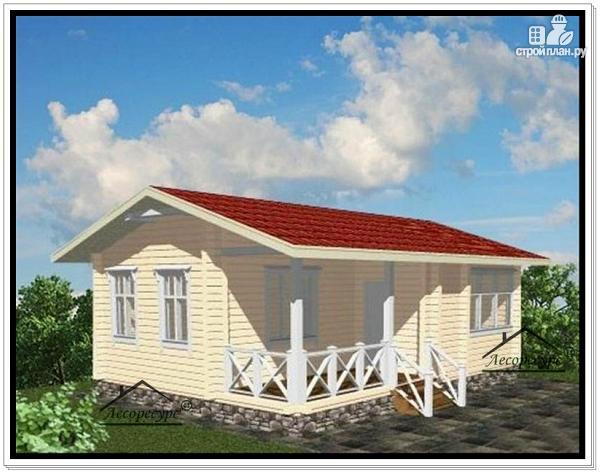 Фото: проект небольшой частный дом