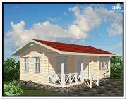 Фото: небольшой частный дом