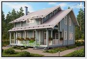 Проект дом 10 на 10 из бруса