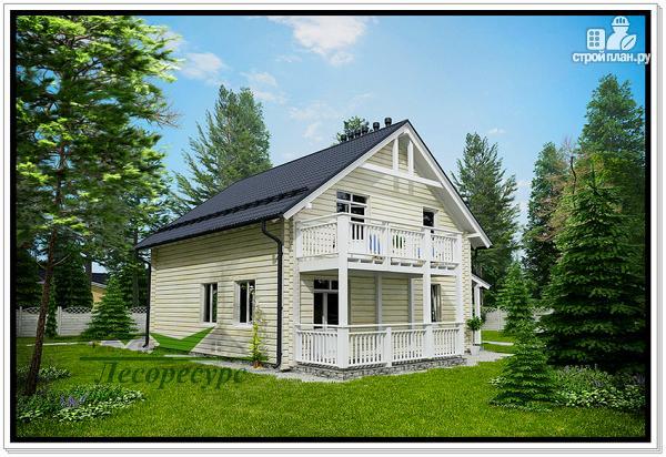 Фото 3: проект дом из бруса с котельной