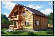 Проект бревенчатый дом