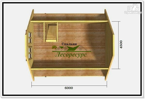 Фото 3: проект дом баня из бруса