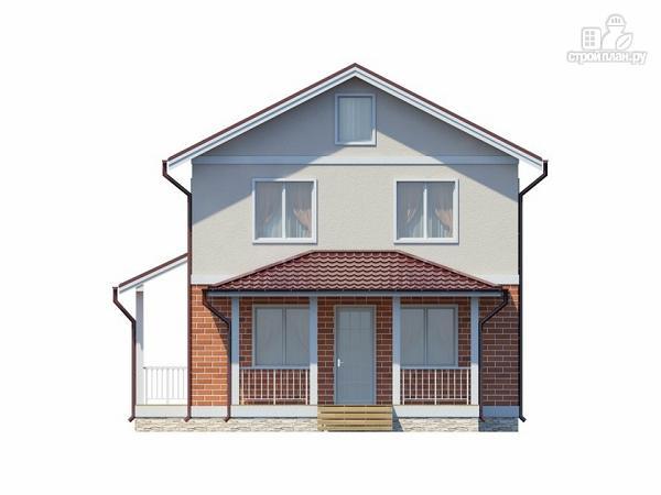 Фото 2: проект жилой дом из пеноблоков