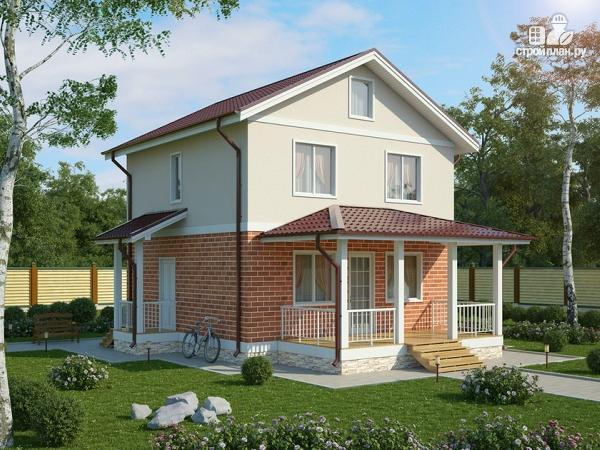 Фото: проект жилой дом из пеноблоков