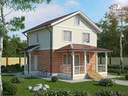 Фото: жилой дом из пеноблоков