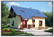 Проект дом из пеноблоков 10 на 10