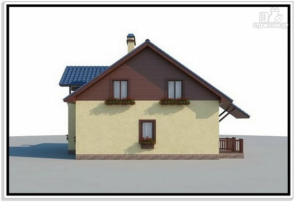 Фото 3: проект дом из пеноблоков 10 на 10