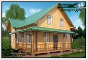 Проект небольшой каркасный дом