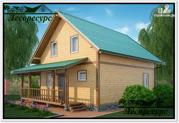 Фото 3: проект небольшой каркасный дом