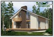 Проект каркасный дом со вторым светом