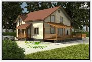 Проект частный каркасный дом