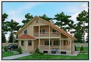 Проект каркасный дом 12 на 12