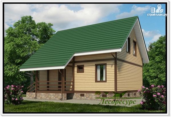Фото 3: проект загородный каркасный дом