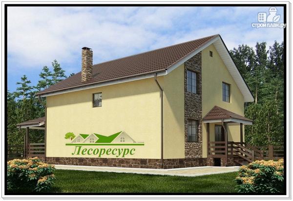 Фото 3: проект дачный каркасный дом