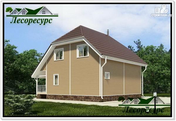 Фото 4: проект двухэтажный каркасный дом