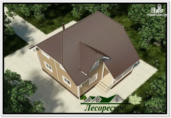 Фото 5: проект двухэтажный каркасный дом