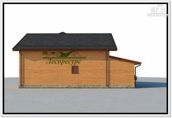 Фото 5: проект дом с эркером и балконом