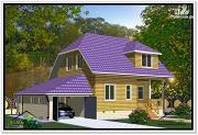 Проект дом из бруса 9 на 13
