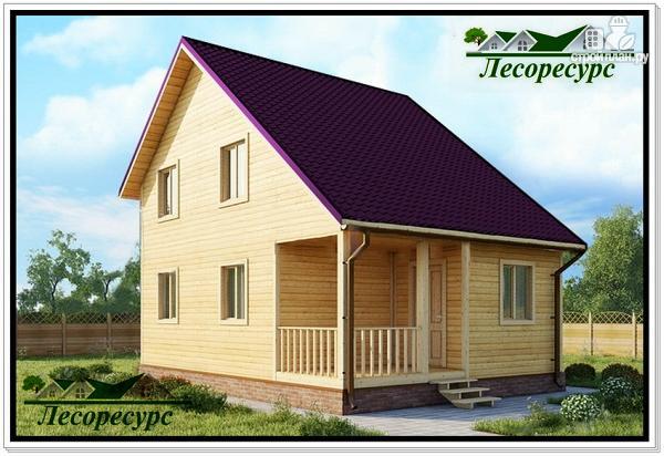 Фото: проект дом с разноуровневой крышей