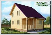 Фото: дом с разноуровневой крышей