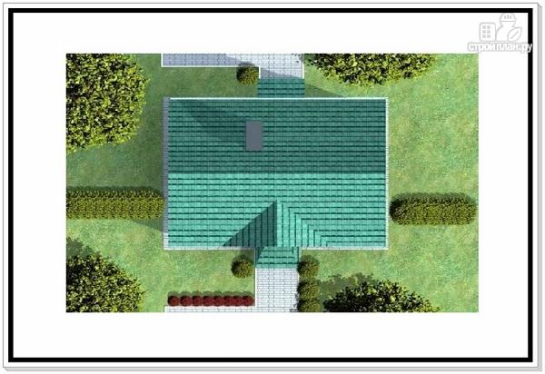 Фото 9: проект двухэтажный дом из пеноблоков с двускатной крышей