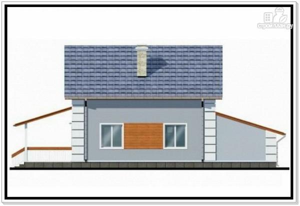 Фото 5: проект 1,5 этажный дом из пеноблоков