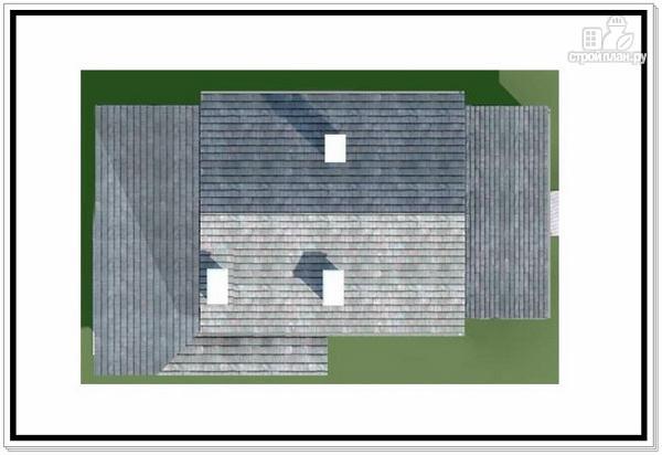 Фото 9: проект 1,5 этажный дом из пеноблоков
