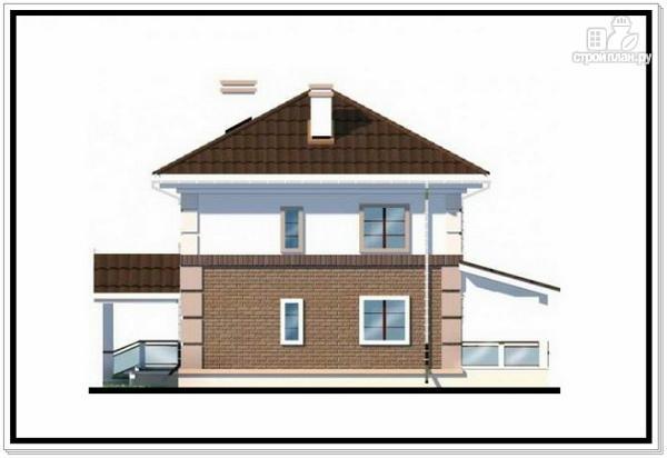 Фото 4: проект двухэтажный дом из пеноблоков с 4 х скатной крышей