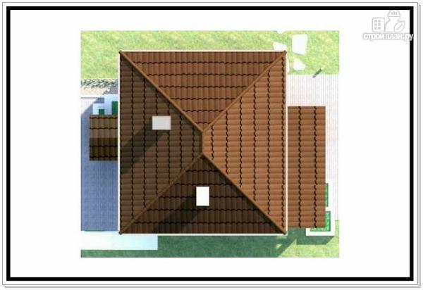 Фото 9: проект двухэтажный дом из пеноблоков с 4 х скатной крышей