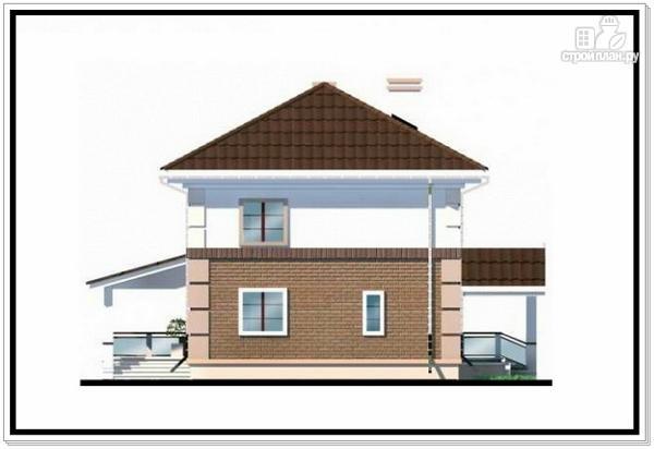 Фото 6: проект двухэтажный дом из пеноблоков с 4 х скатной крышей