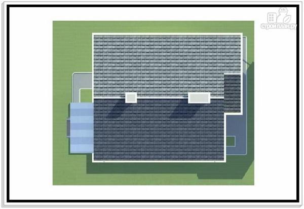 Фото 9: проект 1,5 этажный дом из пеноблоков с балконом