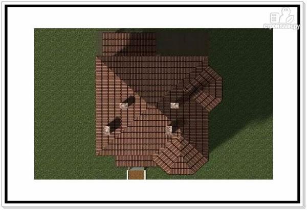 Фото 9: проект 2х этажный дом из пеноблоков с эркером