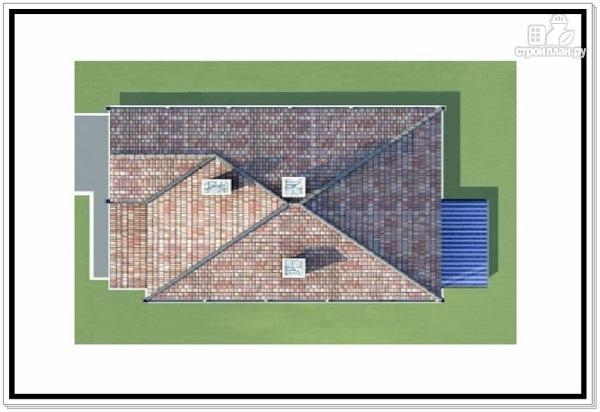Фото 9: проект 2х этажный дом из пеноблоков с гаражом