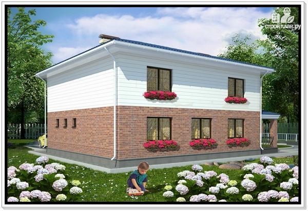 Фото 2: проект дом из пеноблоков 11 на 14