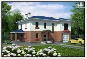 Проект дом из пеноблоков 11 на 14