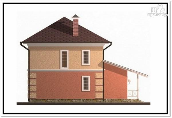 Фото 5: проект компактный дом из пеноблоков