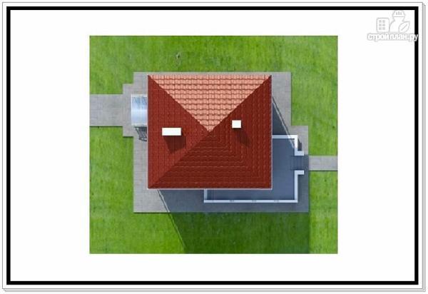 Фото 9: проект квадратный дом из пеноблоков