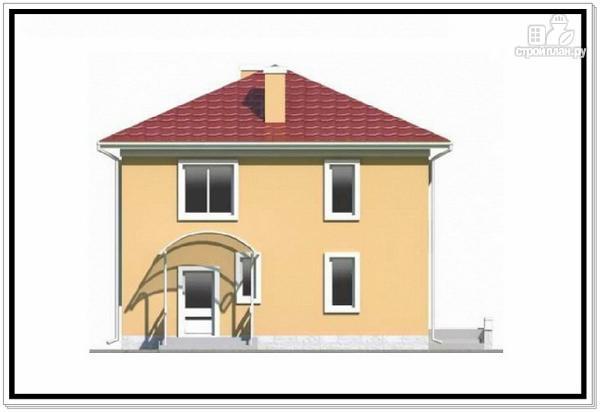 Фото 6: проект квадратный дом из пеноблоков