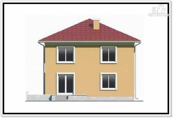 Фото 3: проект квадратный дом из пеноблоков