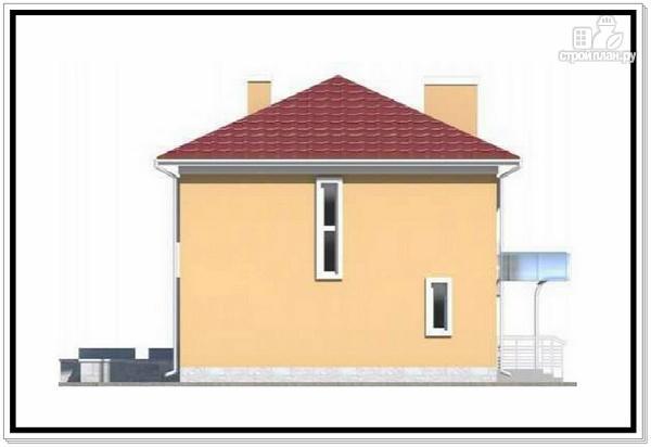 Фото 4: проект квадратный дом из пеноблоков