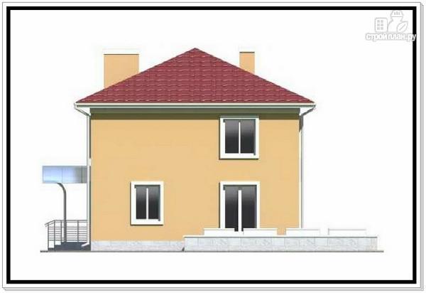 Фото 5: проект квадратный дом из пеноблоков