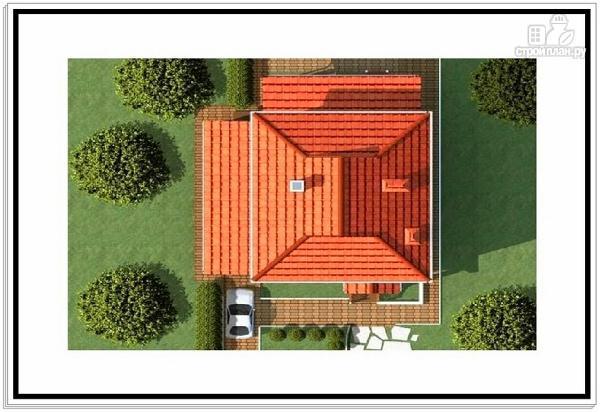 Фото 9: проект большой дом из пеноблоков с гаражом