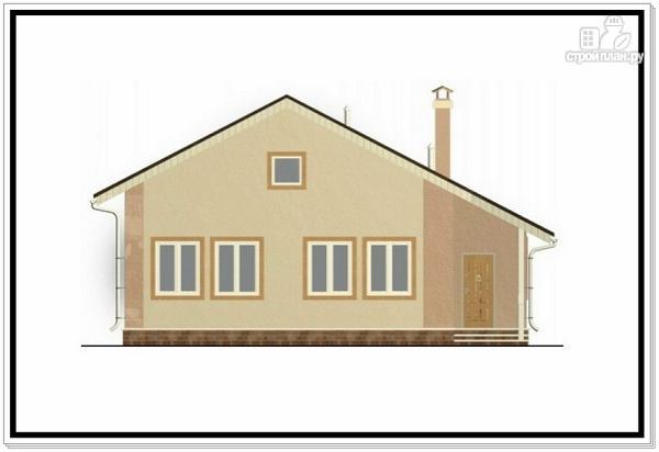 Фото 3: проект одноэтажный дом из пеноблоков