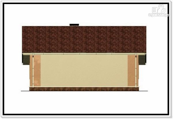 Фото 6: проект одноэтажный дом из пеноблоков