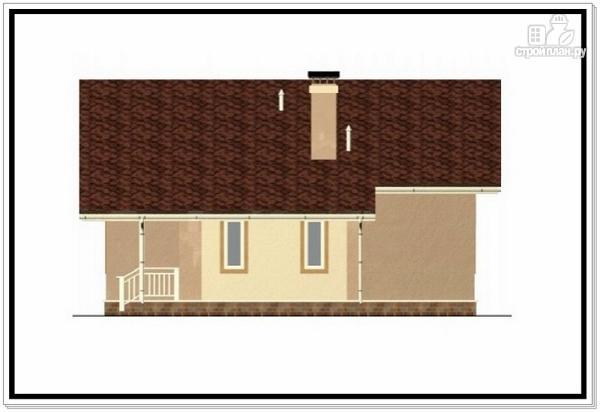 Фото 4: проект одноэтажный дом из пеноблоков