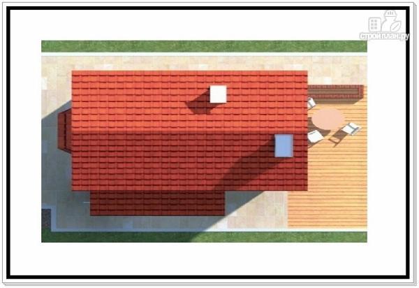 Фото 9: проект дом из пеноблоков для узкого участка