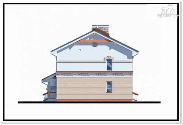 Фото 6: проект 2хэтажный коттедж из пеноблоков с гаражом