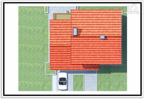 Фото 9: проект 2хэтажный коттедж из пеноблоков с гаражом