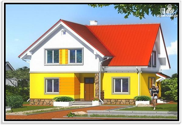 Фото: проект дом из пеноблоков 11 на 12