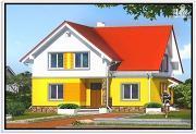 Проект дом из пеноблоков 11 на 12